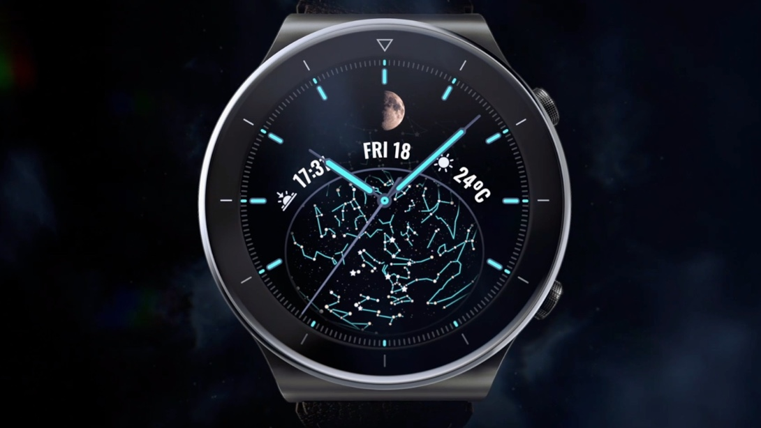 Huawei Watch GT2 Pro adds moon tracking
