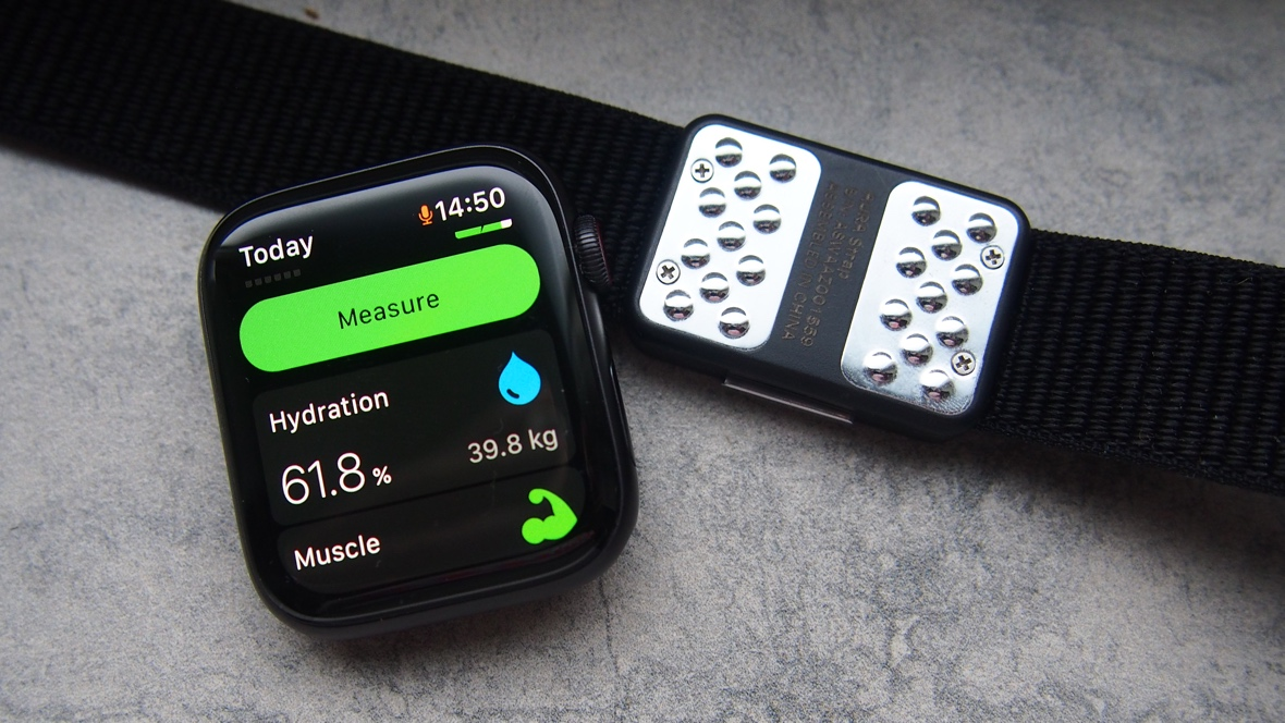 Tracking hydration with the Apple Watch