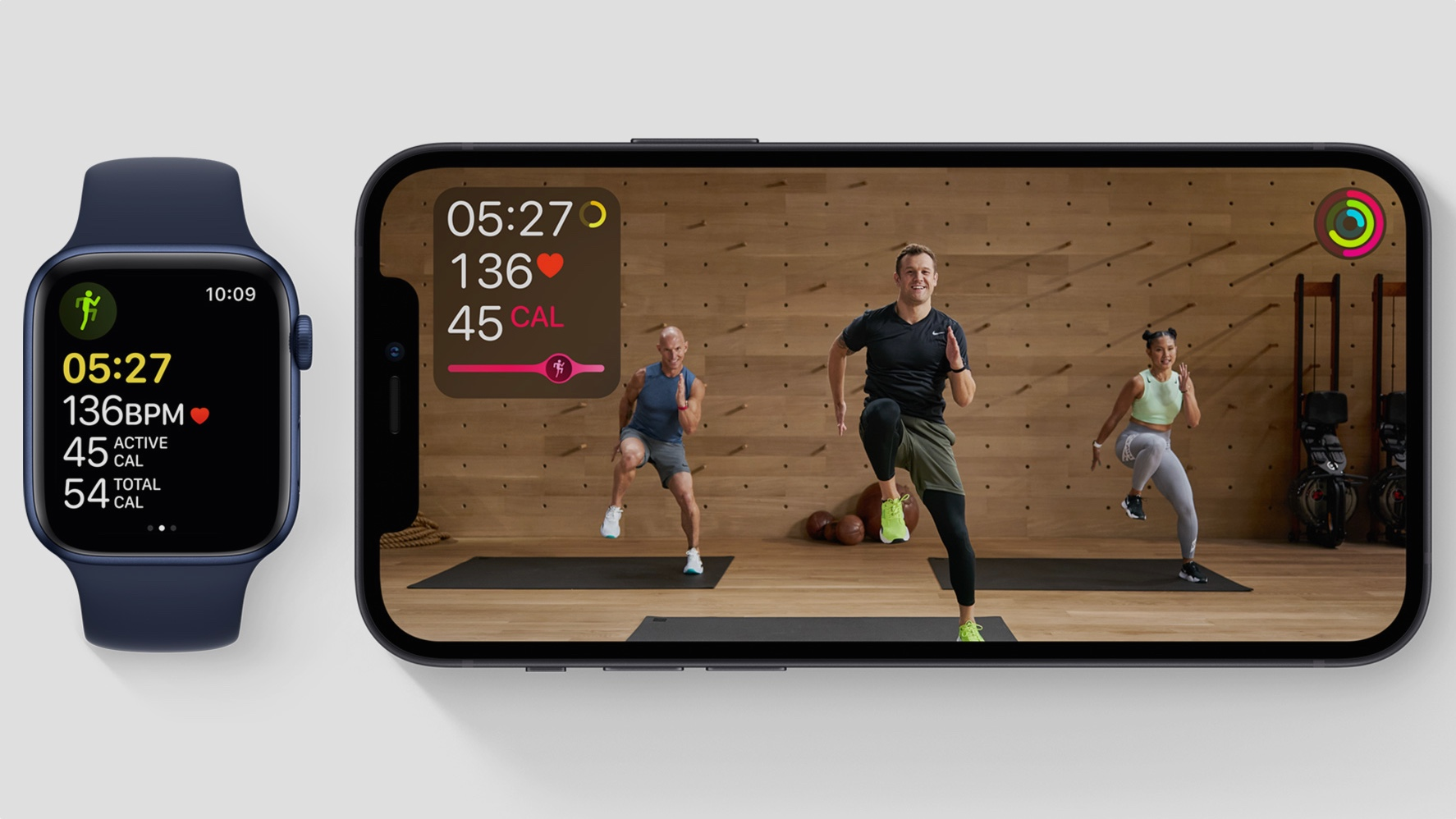 Living with Apple Fitness+