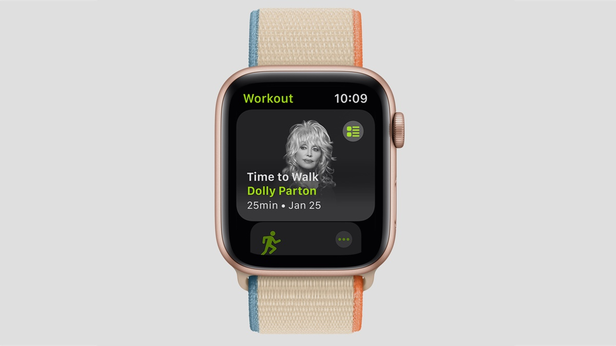 Apple launches walking mode for Fitness+