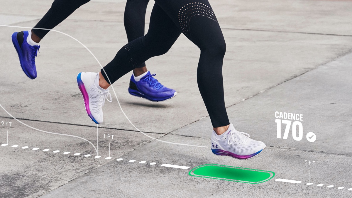 ​Under Armour's new connected running shoes