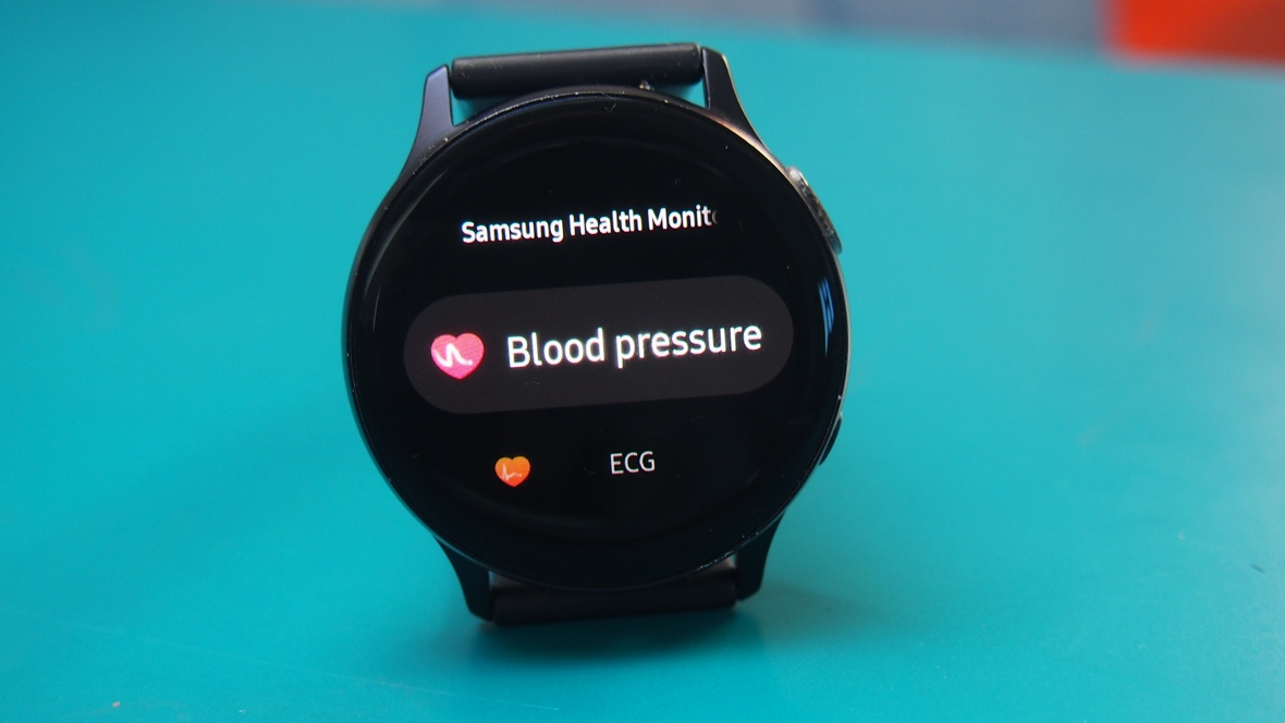 How to take blood pressure on Galaxy Watch