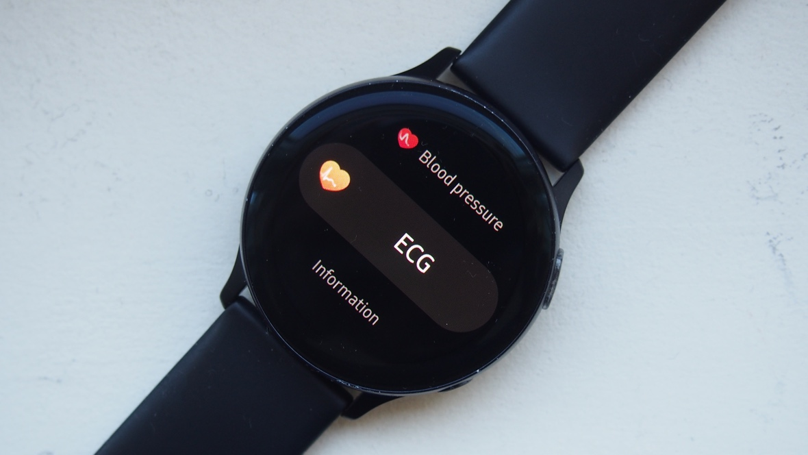 How to take ECG on Samsung Galaxy Watch