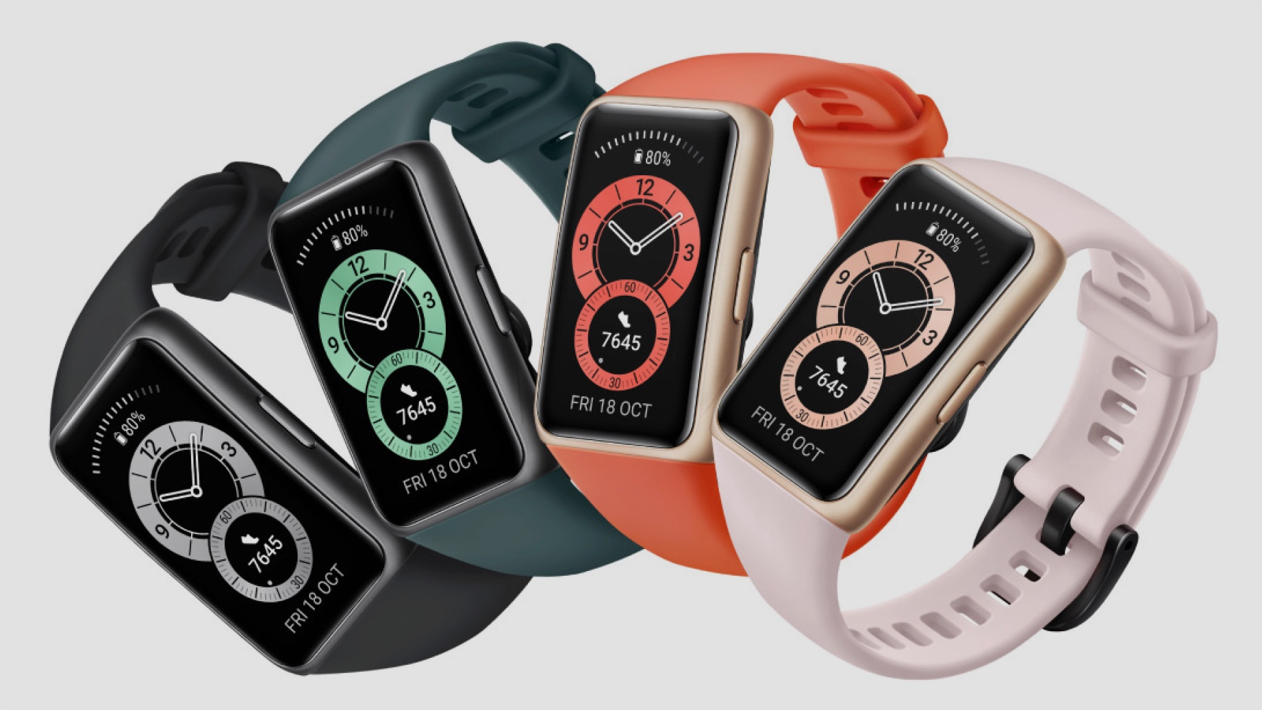 Huawei Band 6 blurs the lines