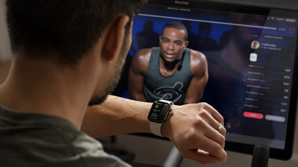 Peloton is working on a heart rate wearable