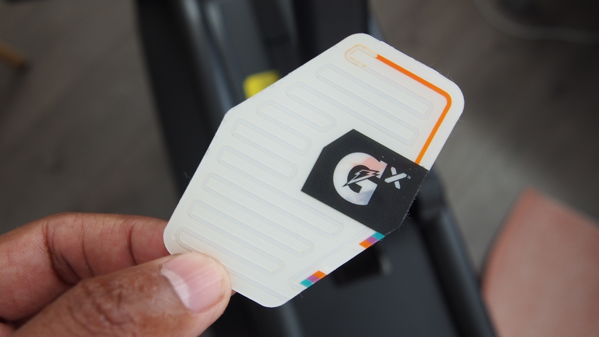 Living with the Gatorade Gx smart patch