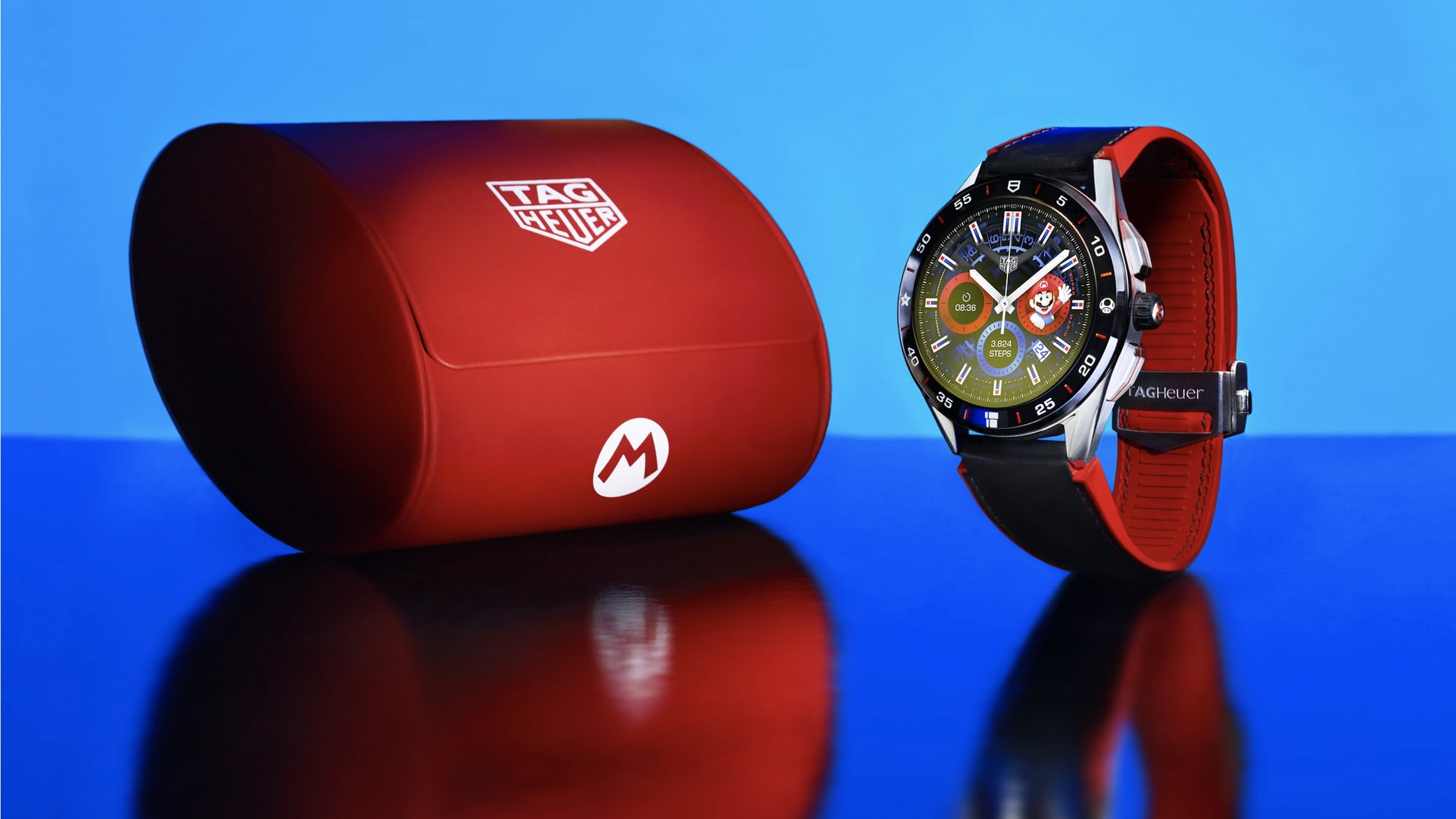 Tag Heuer Connected x Mario smartwatch lands