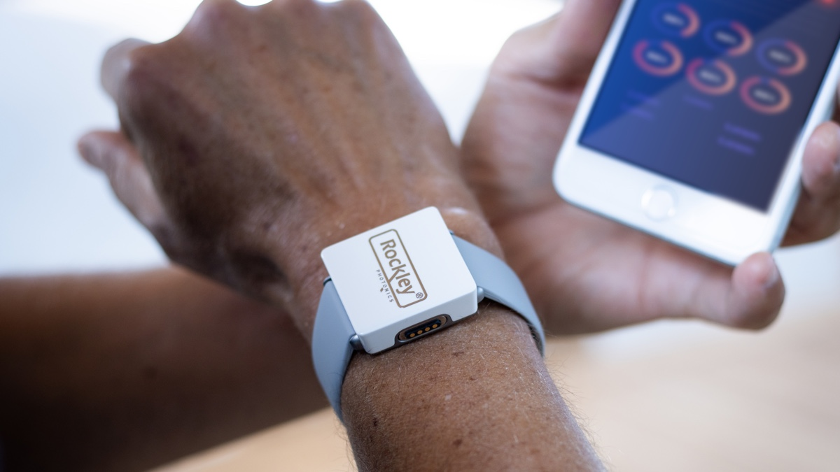 Rockley shows off alcohol tracking wearable