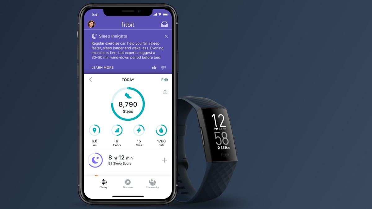 How to change Fitbit goals