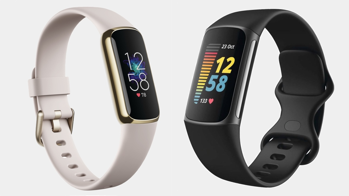 Fitbit Charge 5 v Fitbit Luxe