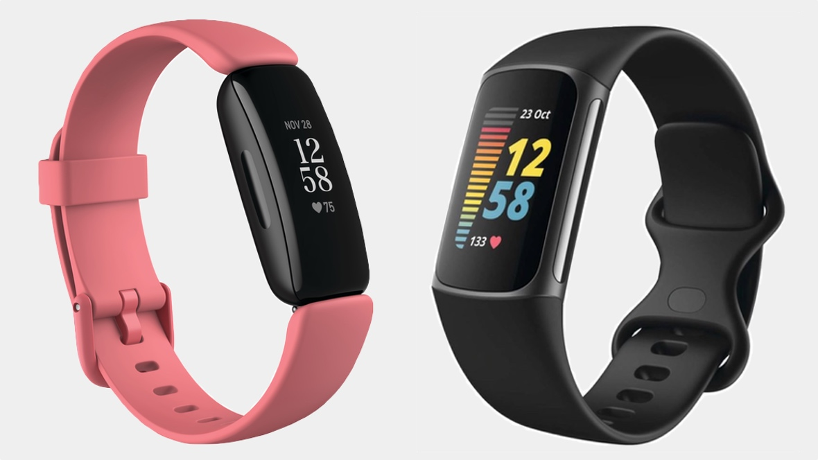 Fitbit Charge 5 v Fitbit Inspire 2