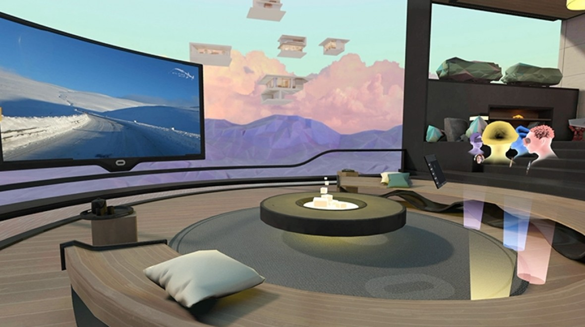 Gear VR goes social: Chat, TV & games