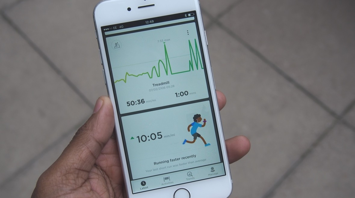 Trying out TomTom's new Sports app