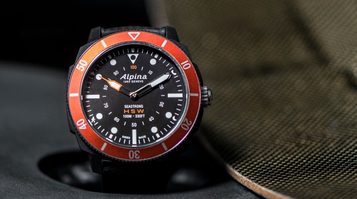Alpinas Seastrong Horological Is A Hybrid Smartwatch For Divers - Alpina diver watch