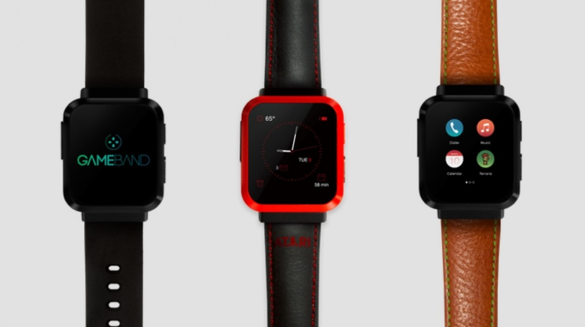 Get classic Atari games on your wrist