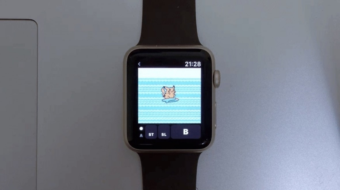 Hack turns your Apple Watch into a Game Boy