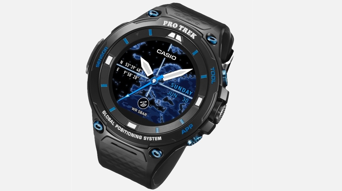 Casio's limited edition Wear 2.0 smartwatch