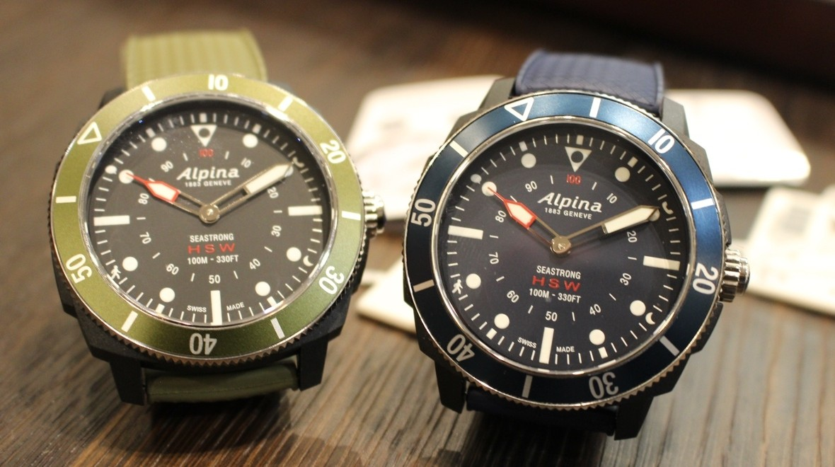 Alpina Seastrong Horological Smartwatch A Diverstyle Hybrid Done Right - Alpina watch review