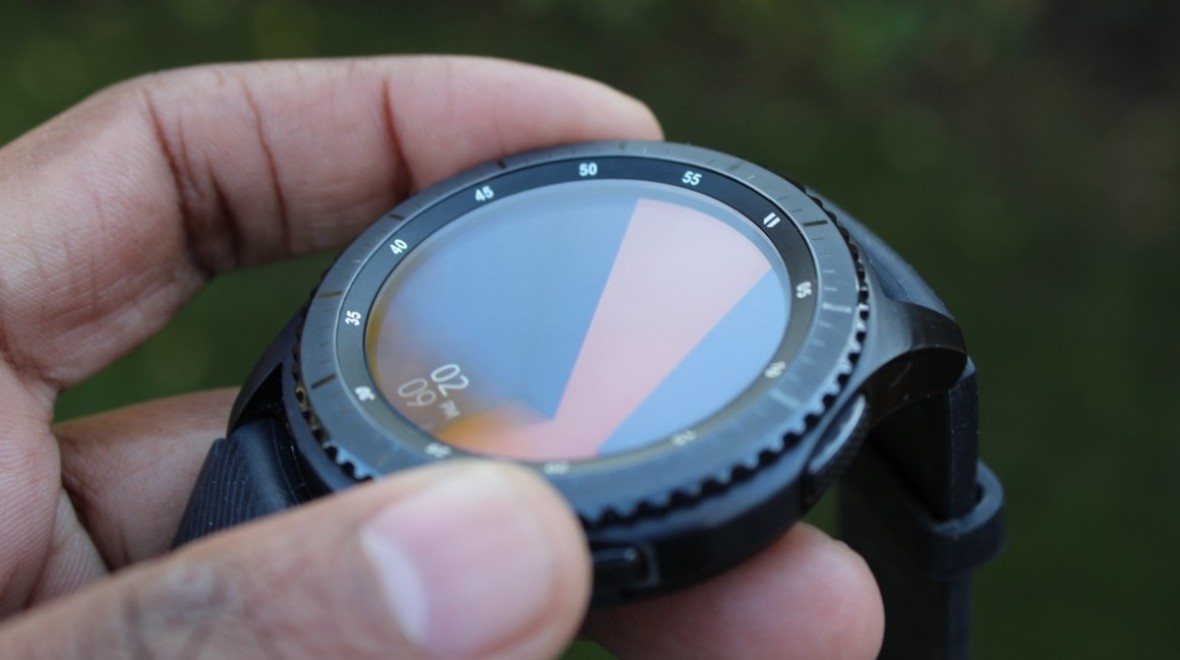 Samsung hints at rotary display smartwatch