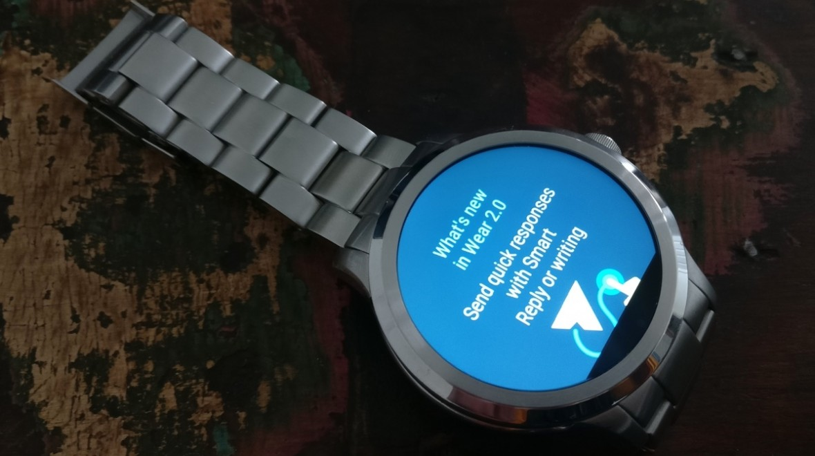 Android Wear 2.0 update now landing