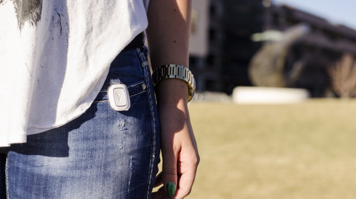 Wearable panic button aims to keep you safe
