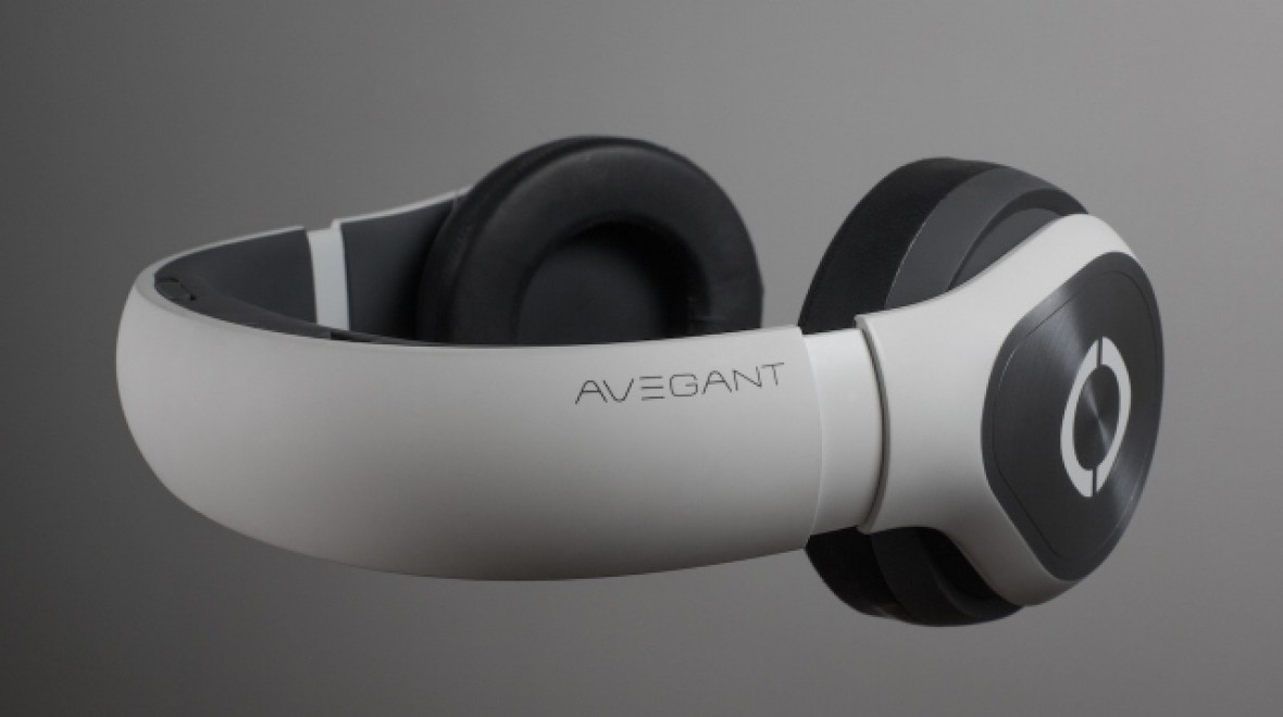 Avegant Glyph headset looks like headphones