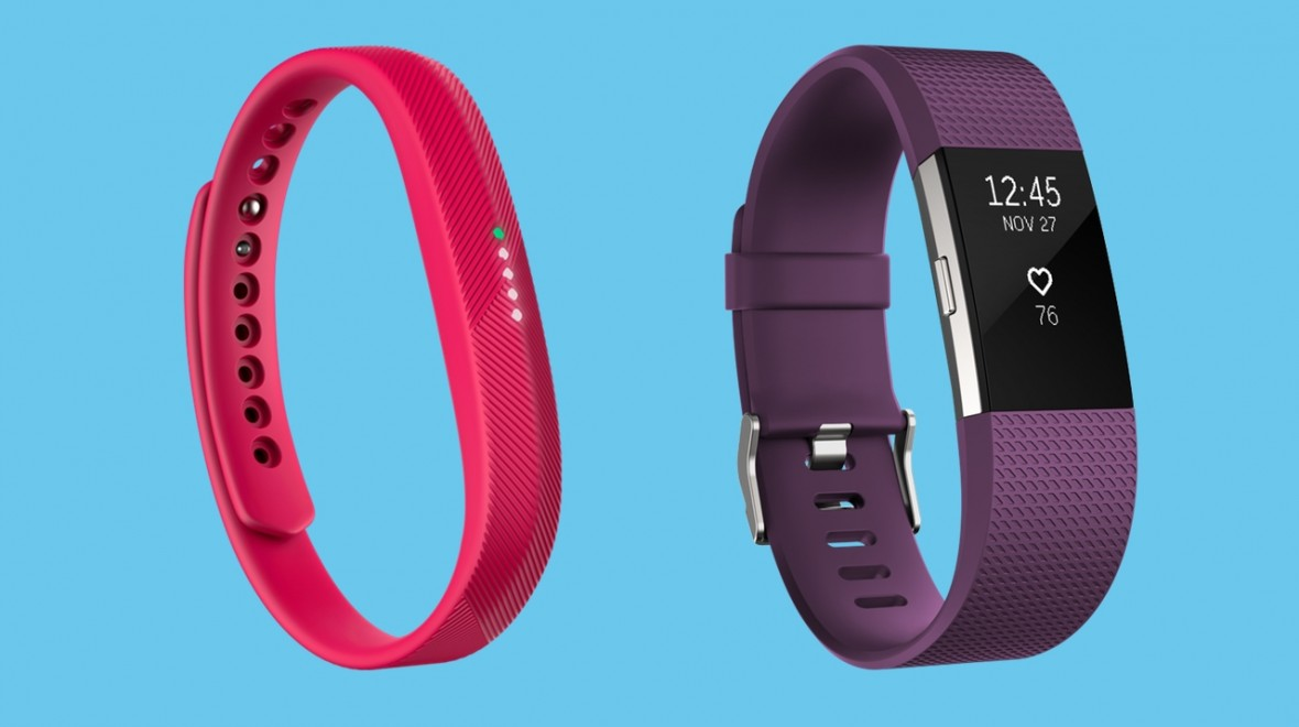 Fitbit Flex 2 v Fitbit Charge 2