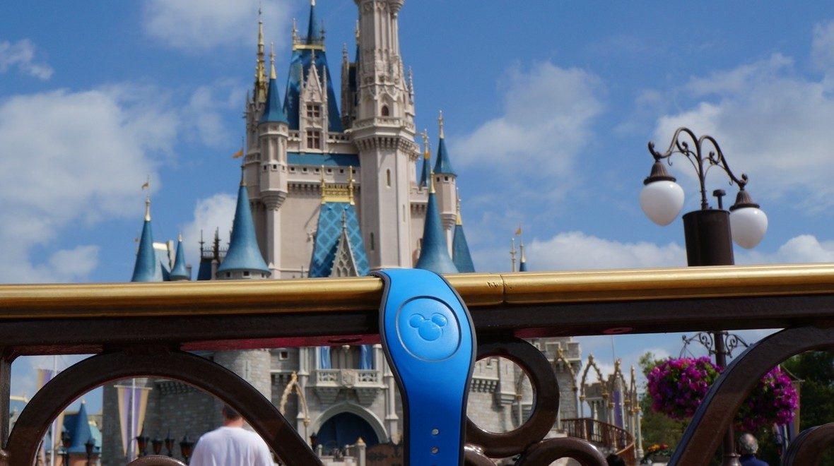 A Disney MagicBand 2 day out