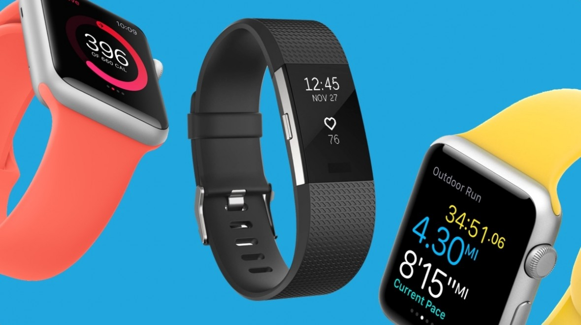 Apple Watch Series 2 v Fitbit Charge 2