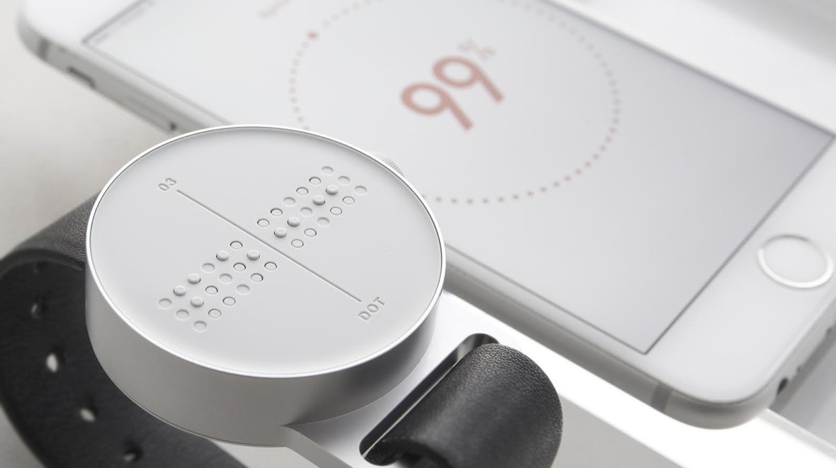 Dot on making a Braille smartwatch