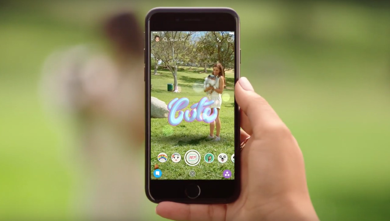 Snapchat S New World Lenses Feature Is A Massive Push Into