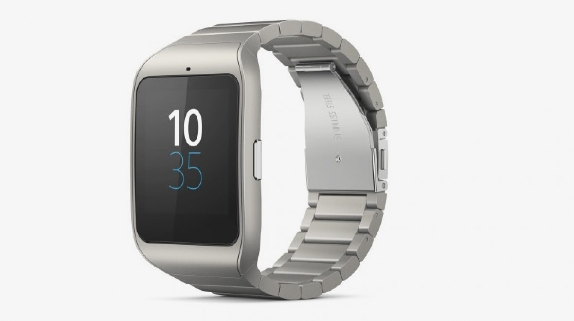 Stainless steel Sony SmartWatch 3 coming