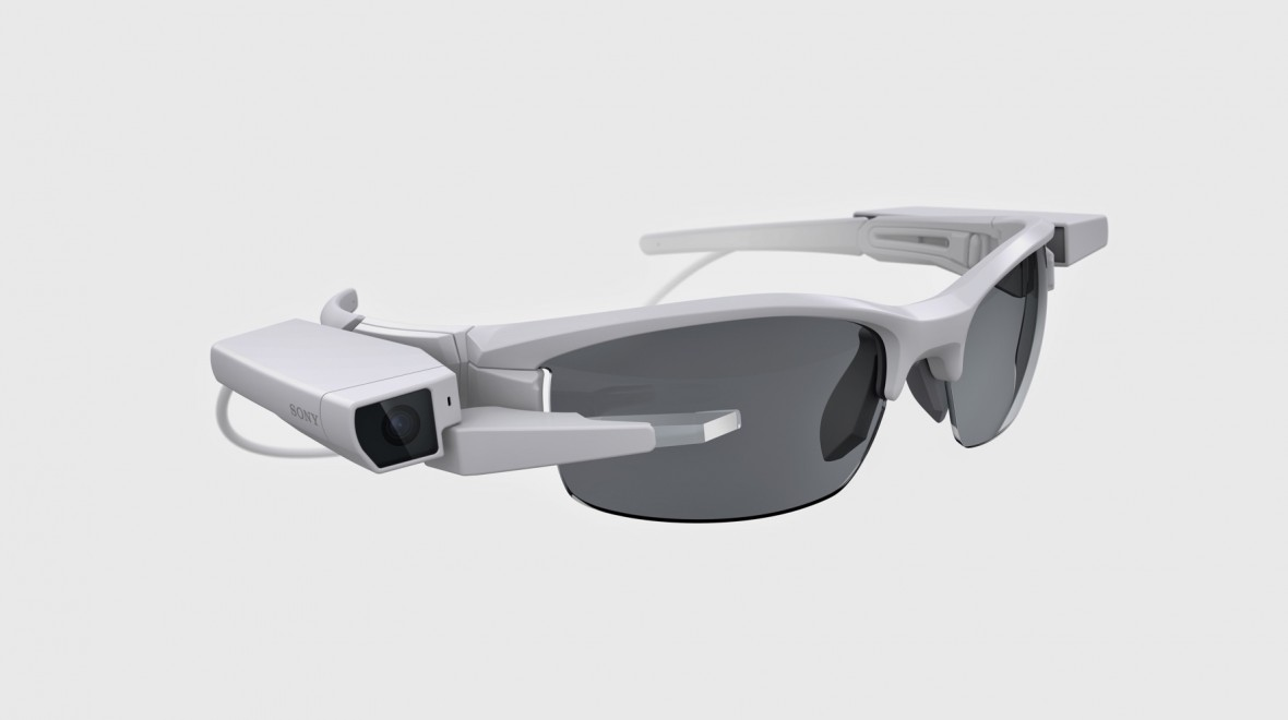 Sony's clip-on display makes glasses smart
