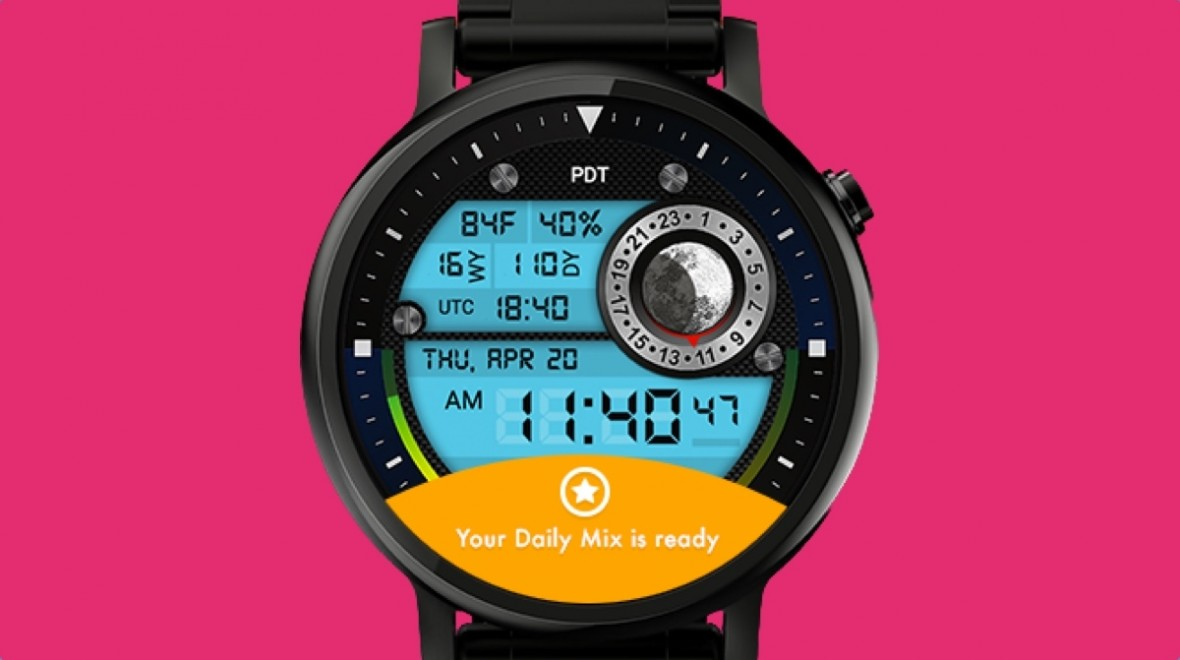 Facer is giving you a new daily watch face
