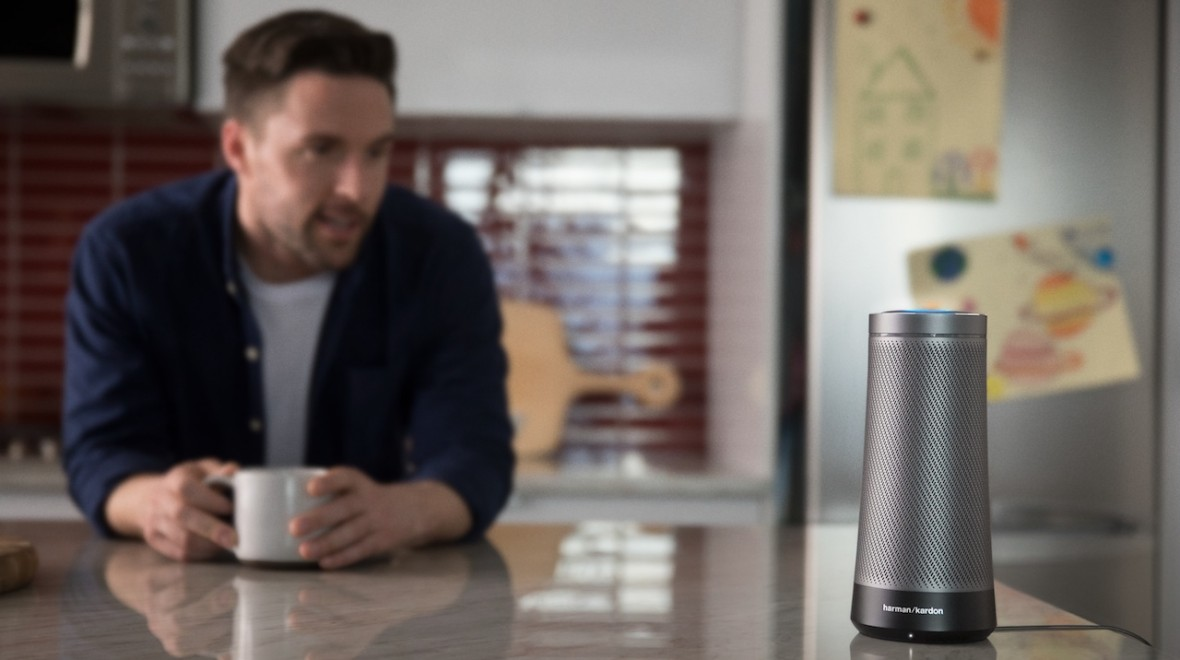 The first Cortana smart speaker is here