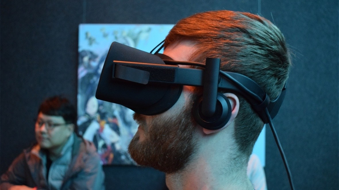 Oculus makes VR look a little more real