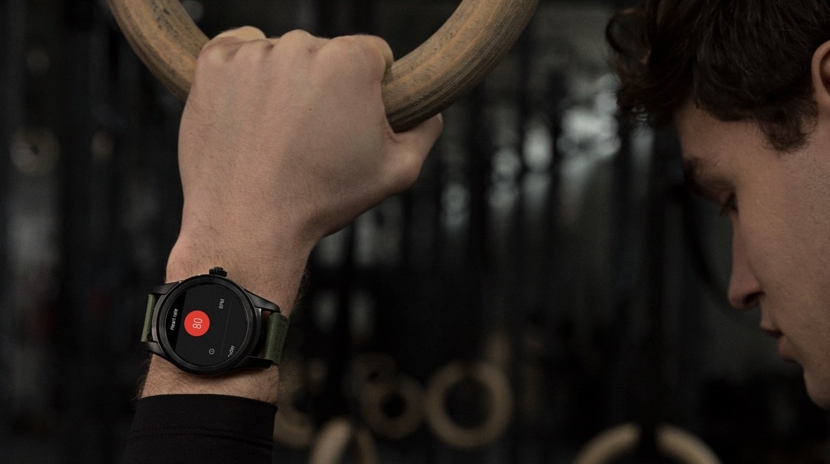 Recharging your smartwatch by a wrist twist
