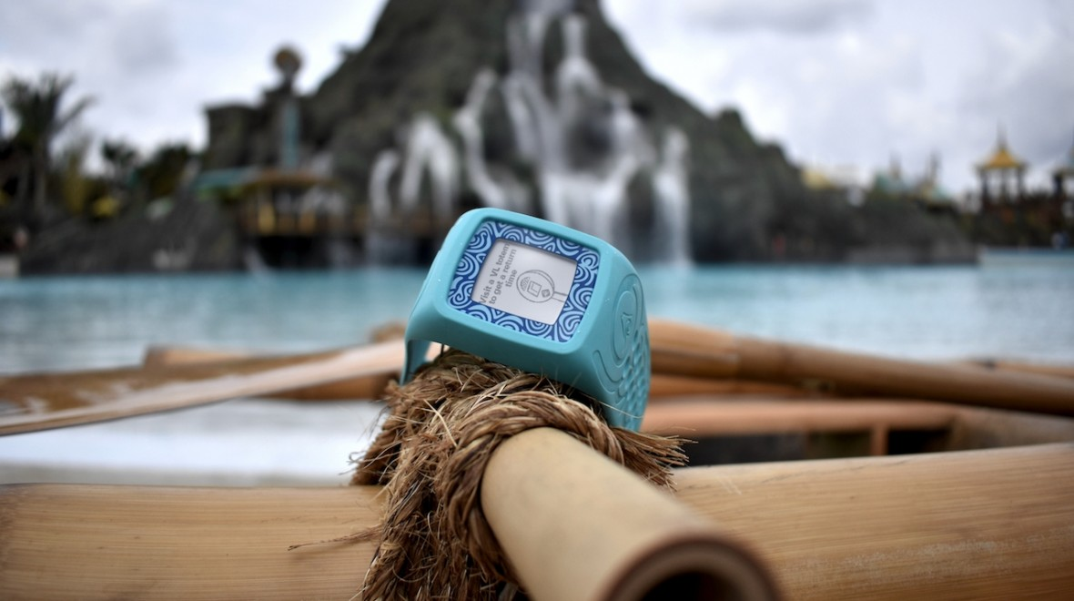 A day with Universal's park wearable