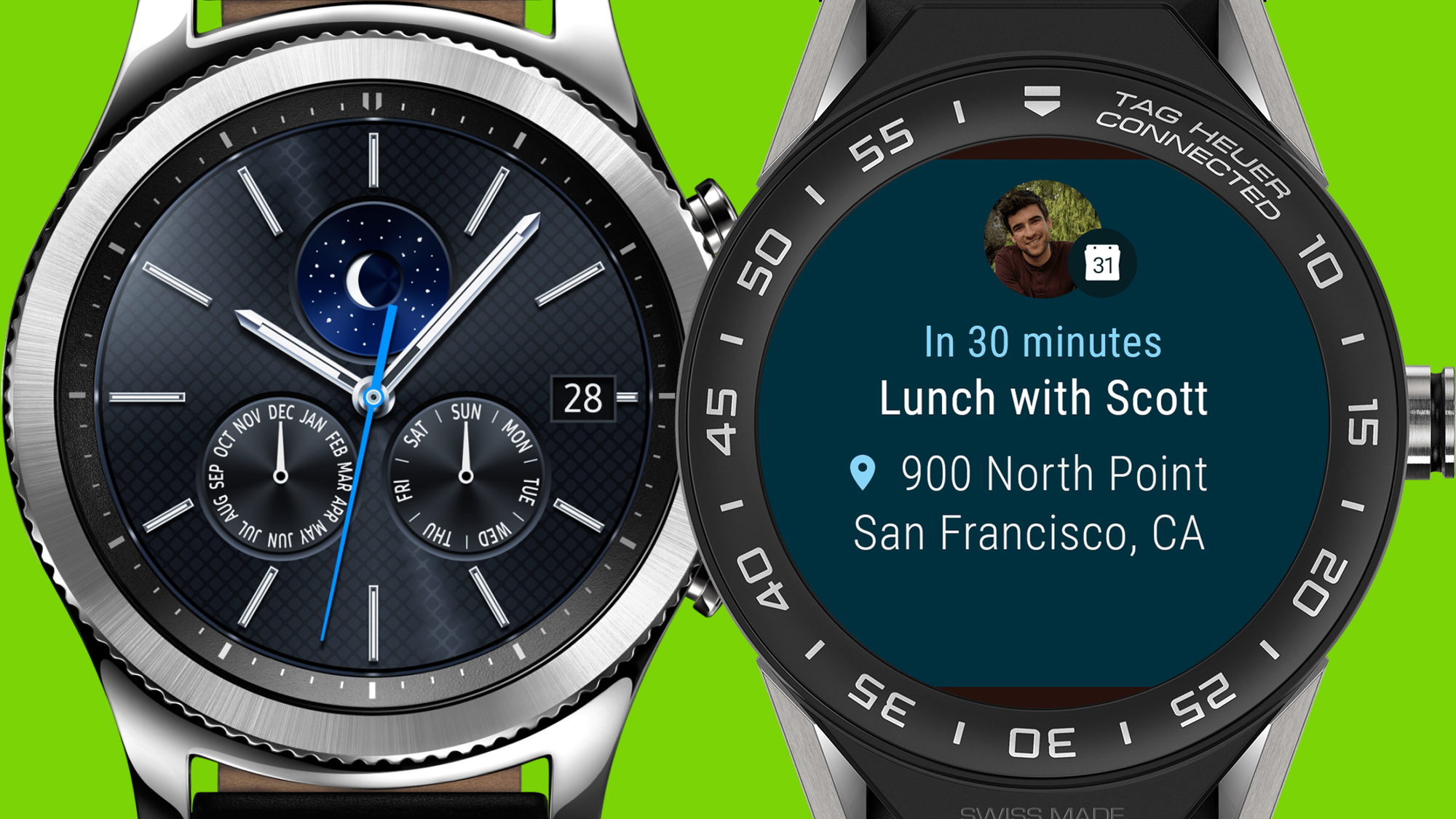 Samsung Gear S3 V Tag Heuer Connected Modular 45
