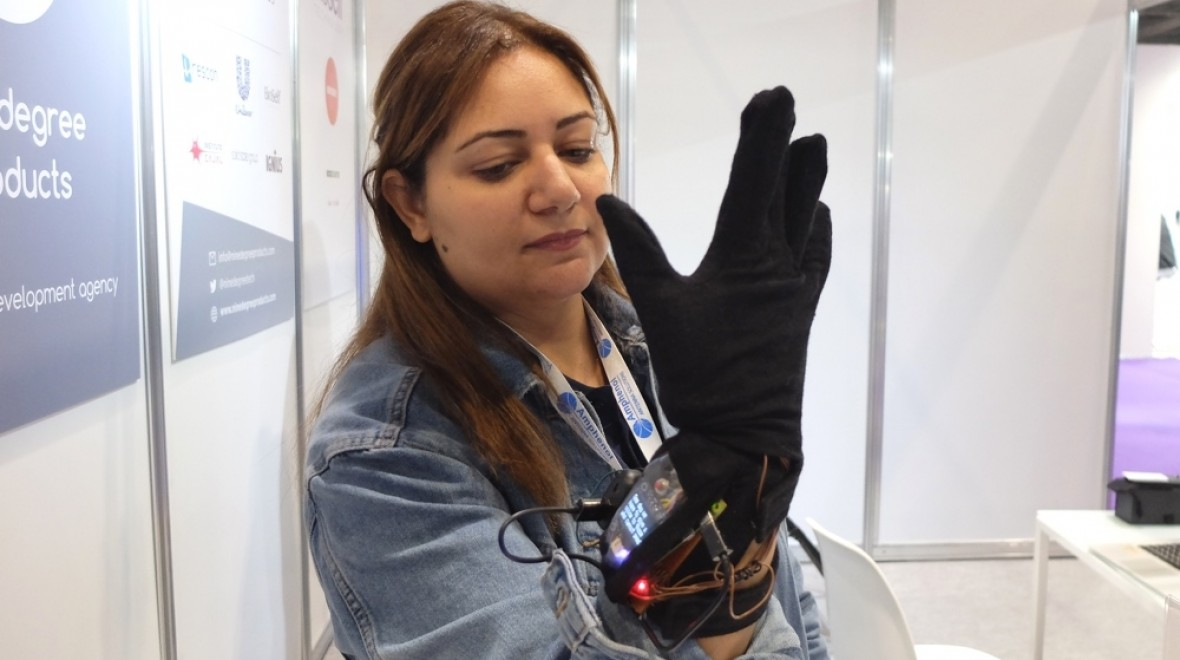 A smart glove for sign language
