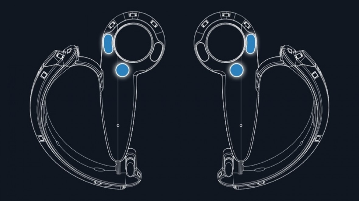 Valve's Knuckles VR controllers detailed