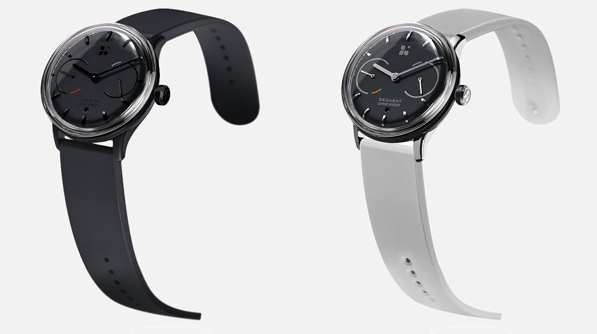 Sequent is a self-charging smartwatch