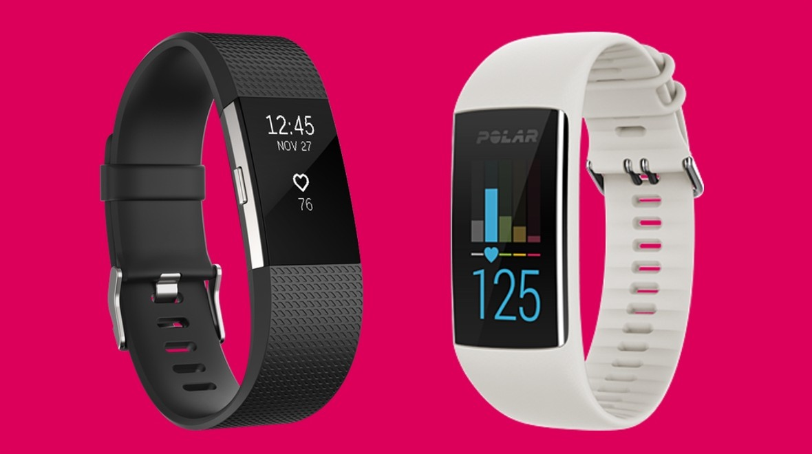 Fitbit Charge 2 v Polar A370