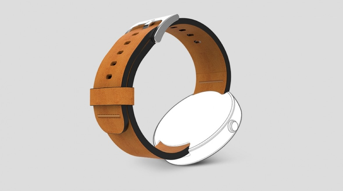 New Moto 360 leather straps on sale