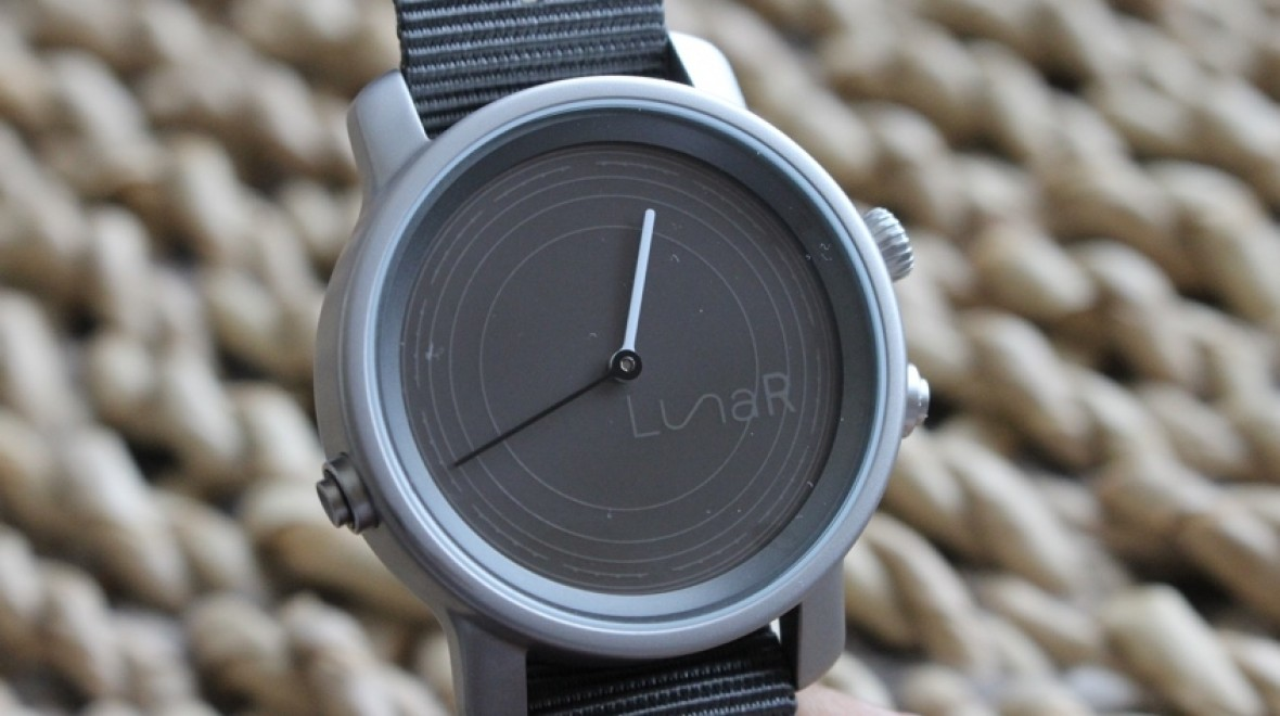 LunaR's solar powered smartwatch