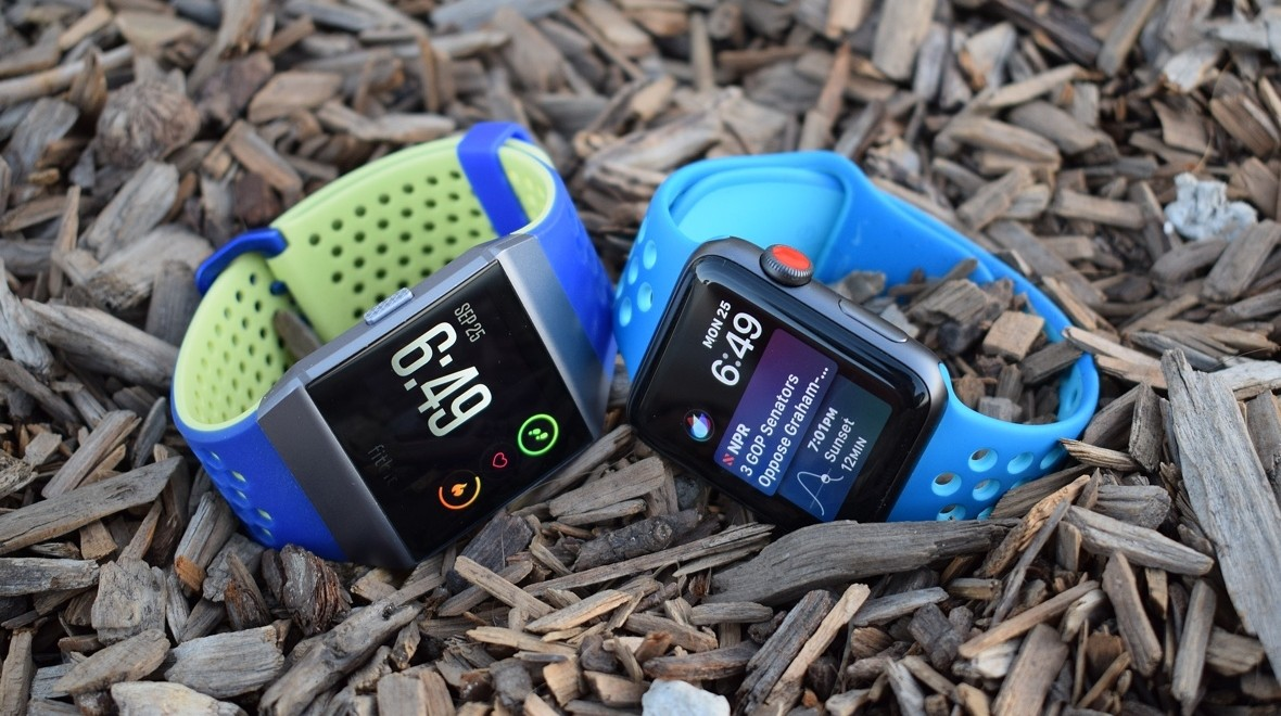 Fitbit Ionic v Apple Watch Series 3