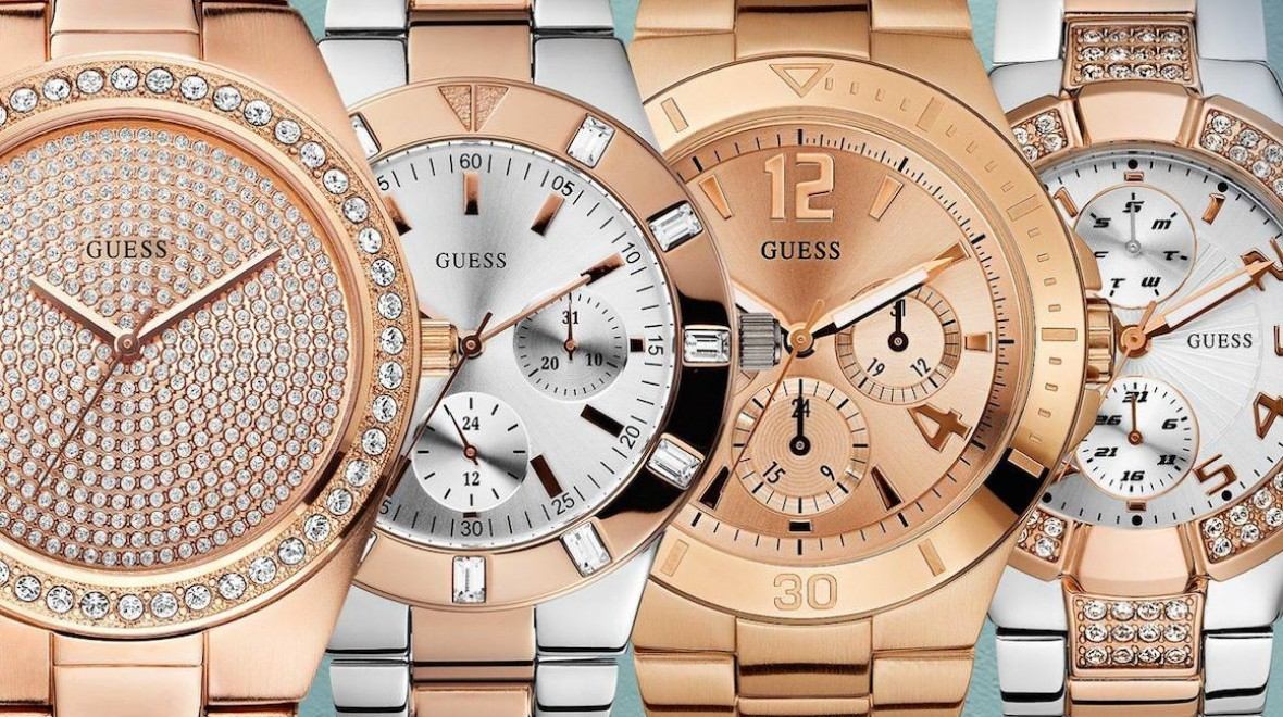 Guess and Martian team up for smartwatch