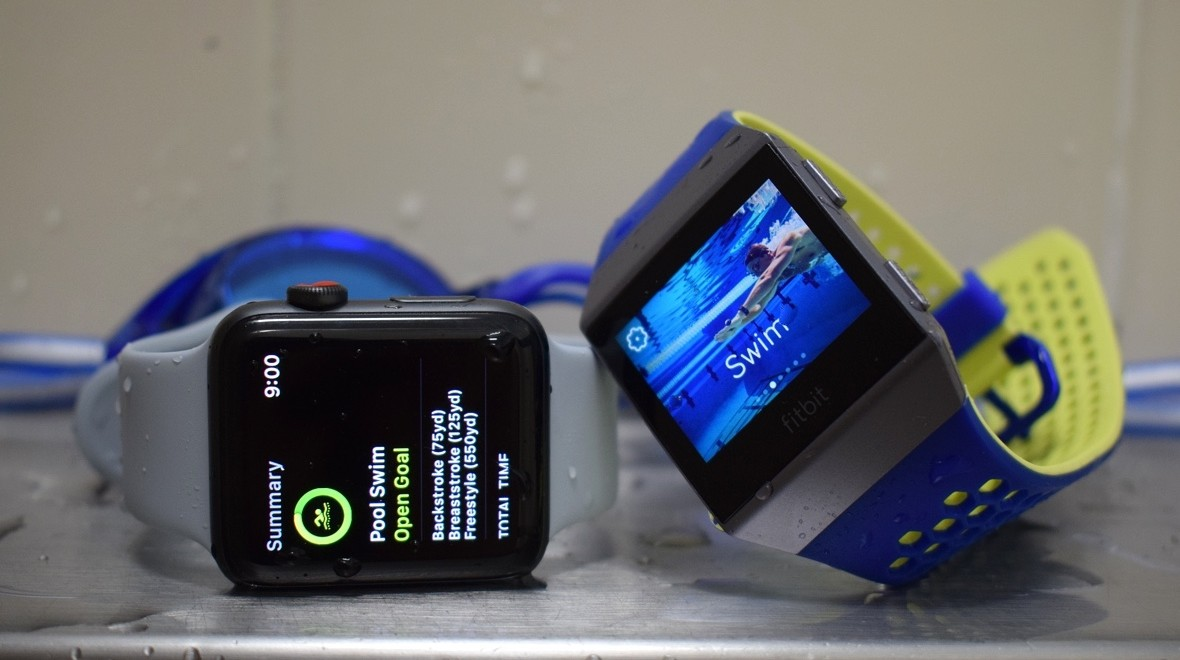 Swimming with Apple Watch & Ionic