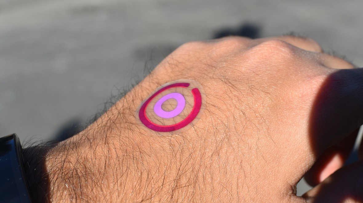 Hands on with LogicInk's temp tattoo