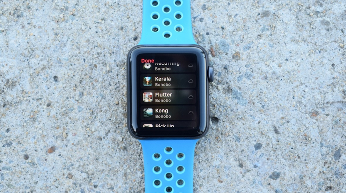 how to stream music on apple watch 3